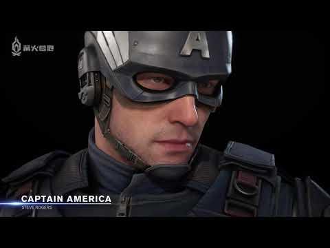 【篝火中字】《漫威復仇者》美國隊長角色預告