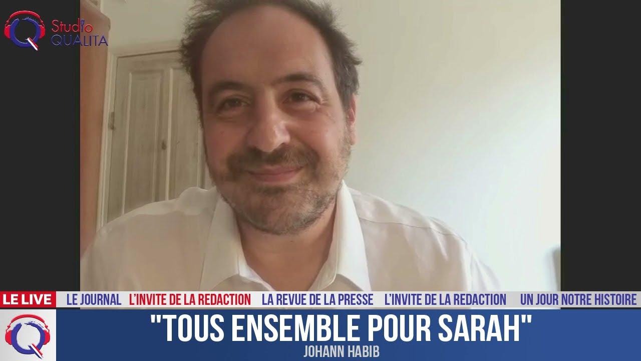 """""""Tous ensemble pour Sarah"""" - L'invité du 25 avril 2021"""