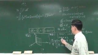 【教學影片】提要248:曲面之面積分