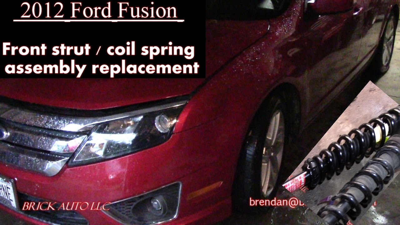 2017 Ford Fusion Front Spring Strut Embly Replacement The Dealer Said You Need What