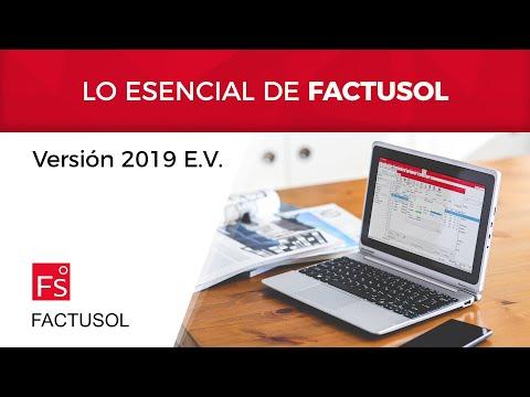 Lo esencial de FACTUSOL 2019 E.V.