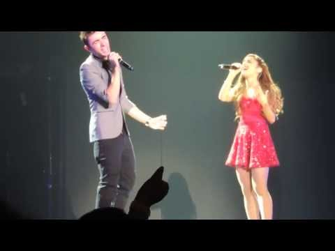 Ariana Grande & Nathan Sykes Almost is Never Enough Live Atlanta, Georgia August 10, 2013
