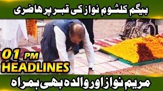 Qabar Per Hazari!! News Headline - 01:00 PM | 20 September 2018 | Neo News
