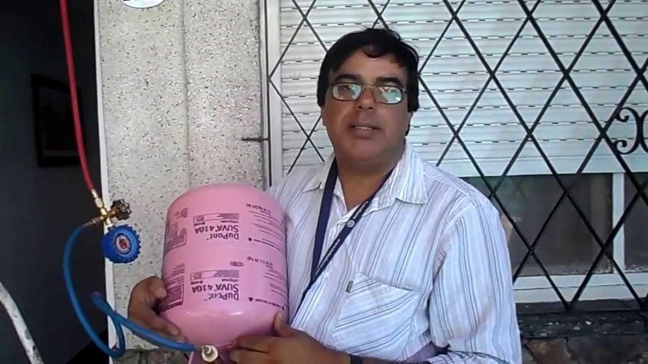 Aire Acondicionado R410a Como Cargar Gas Difusora 2 Youtube