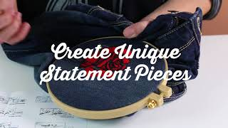 Bucilla Fashion Embroidery Kits: Place, Trace & Stitch!