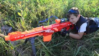 Нёрф Битва на Русском;Подрыв Завода:Nerf  The Undermining Of The Plant