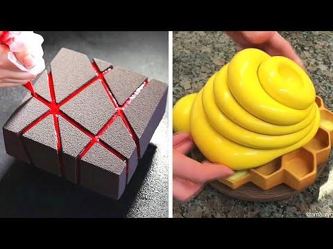 gâteau-au-chocolat-🎂🍫-incroyable-décorations-pour-gâteaux-au-chocolat-(mai)-#04