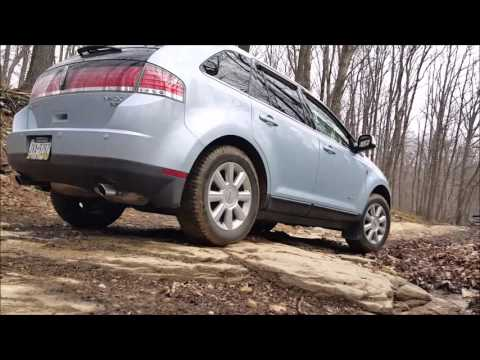 Off Roading a 2008 Lincoln MKX