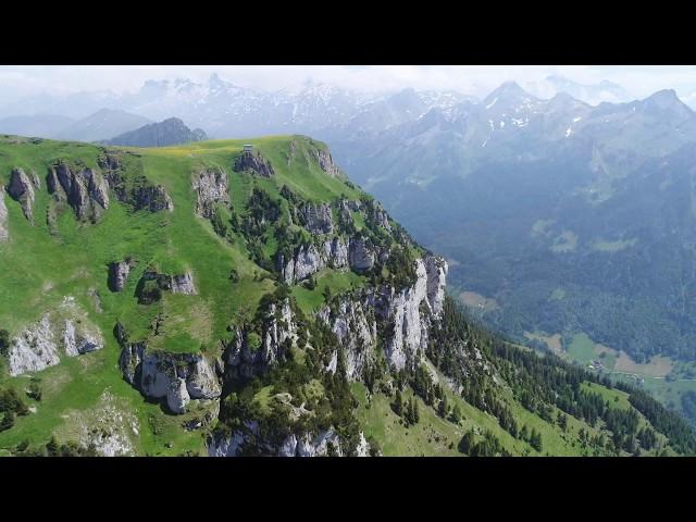 Drone in Switzerland (Swiss Alps)