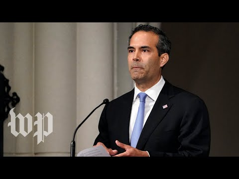 George P. Bush recounts memories with his grandfather