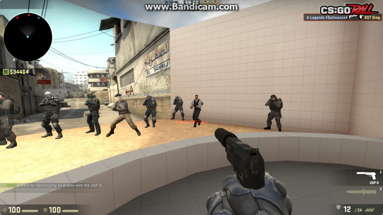 CS GO: how to get custom crosshair and player view model ...