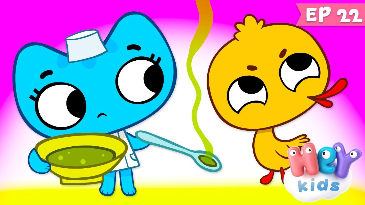 Kit și Keit : Mac Mac - Desene animate cu doctori   HeyKids