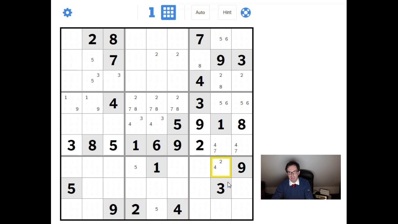 Sudoku Tutorial: Going From Easy/Medium To