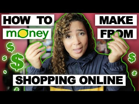 HOW TO MAKE EASY MONEY FROM JUST ONLINE SHOPPING !!!