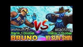 Top Global Bruno JessNoLimit Vs Top global Yi Sun Shin Bigboss571