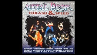 V A METAL ROCK Thrash Speed 1991 Full Compilation