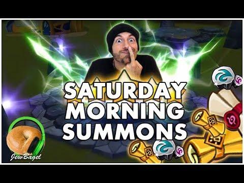 SUMMONERS WAR : Saturday Morning Summons - 500+ Scrolls - (8/19/17)