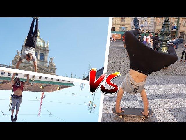 Handstand Challenge #1 | Tary vs. Kožak