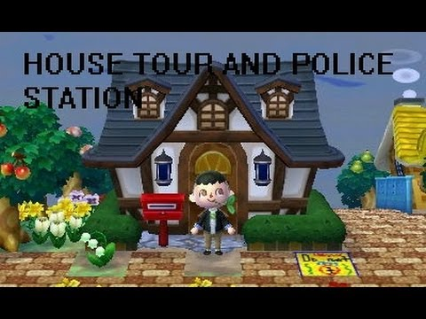 Animal Crossing New Leaf House Tour and Police Station YouTube