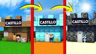 ¡PASAMOS DE CASTILLO NOOB A CASTILLO PRO! 🏰😂 MINIWORLD CON JON2305