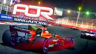 Fighting through the traffic - F1 2017 AOR Singapore