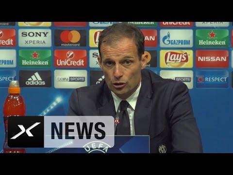 Massimiliano Allegri: Finale? Spieler wollen es unbedingt | FC Barcelona - Juventus Turin 0:0