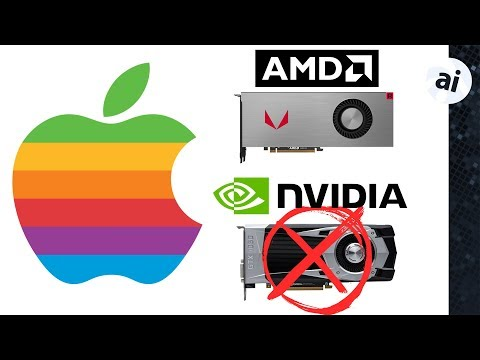 Video: Nvidia support was abandoned in macOS Mojave, and