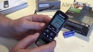 Диктофон Sony ICD PX333