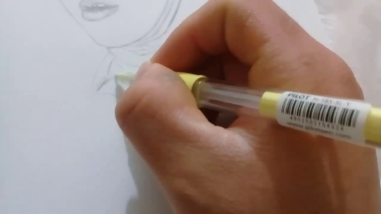 Beautiful muslim girls pencil sketch