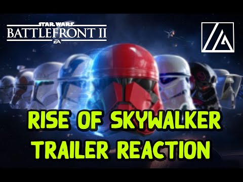 star-wars:-battlefront-ii---rise-of-skywalker-trailer-reaction!
