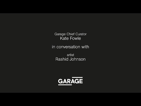 Discussion: Rashid Johnson and Kate Fowle at Garage