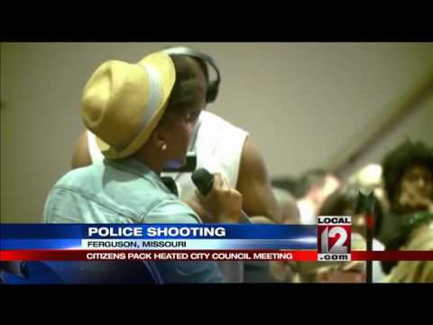 Protests, anger, doubt prevail at Ferguson m