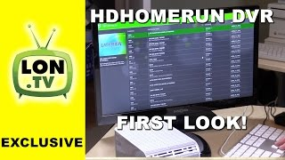 HDHomerun DVR First look! Media center replacement DVR software that supports protected content