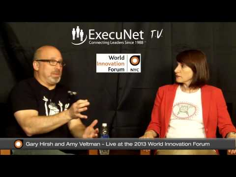 ExecuNet Interview, Gary Hirsh/Amy Veltman part 1, WIF 2013