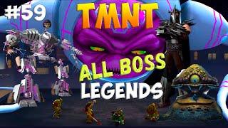 Черепашки-Ниндзя: Легенды. Прохождение #59 ALL BOSS FIGHT (TMNT Legends IOS Gameplay 2016)
