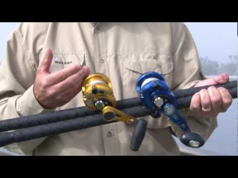 Okuma Fishing Tackle, Makaira & Cedros, New Size 8.mov