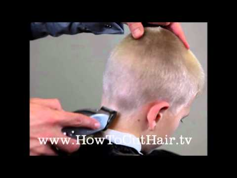Classic Brush Cut Haircut Youtube