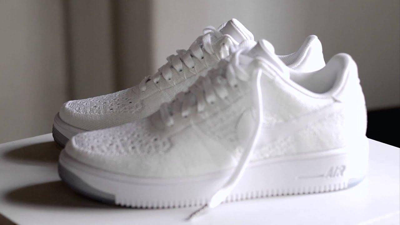 pretty nice febc9 a28e4 SneakersBR Unboxing  Nike Air Force 1 Ultra Flyknit