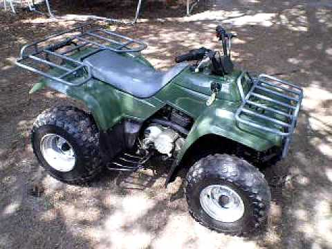 Kawasaki Bayou Big Bore 4 Wheeler - YouTube