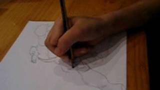 Como dibujar a Helios (Gormiti) videotutorial 2.