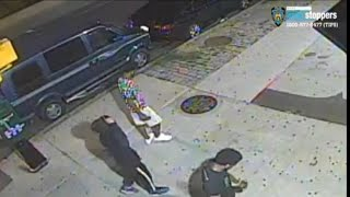 Bronx e-scooter robbery caught on camera