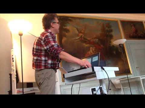 """Poesiens Guldalder 2 af 6. Peter Stein Larsen taler om """"Det skrøbelige sinds poesi"""""""