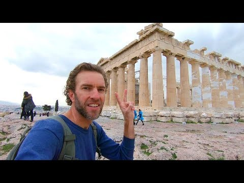 Experience the Real Athens: Walking to the Parthenon