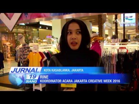 Liputan Jakarta Creative Week 2016