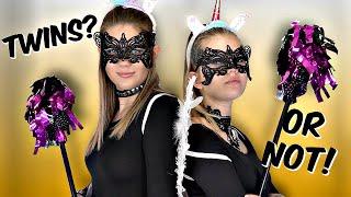 Halloween Twin Telepathy Challenge with Taylor & Vanessa Video