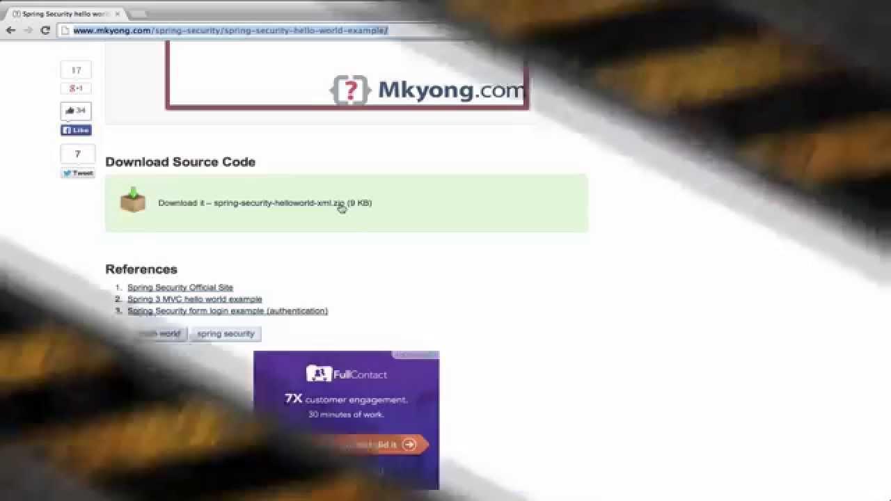 Spring Security hello world example – Mkyong com