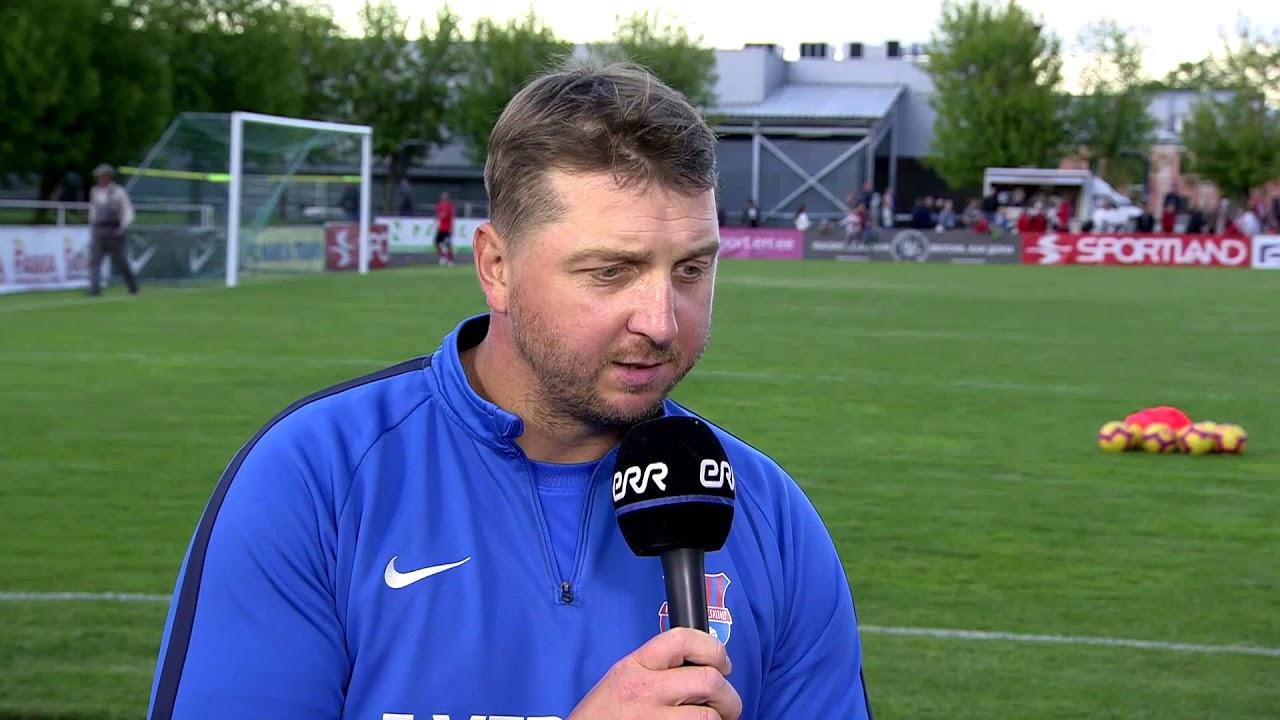 Premium liiga 11. voor: JK Narva Trans - Paide Linnameeskond 1:0 (1:0) Zahovaiko intervjuu