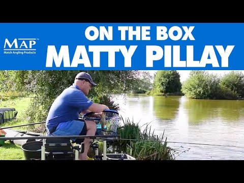 MAP Fishing - Matty Pillay On The Box - Live Match Footage - Lindholme Lakes