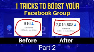 2019 A Killer Trick to Add Unlimited Members in FACEBOOK GROUP