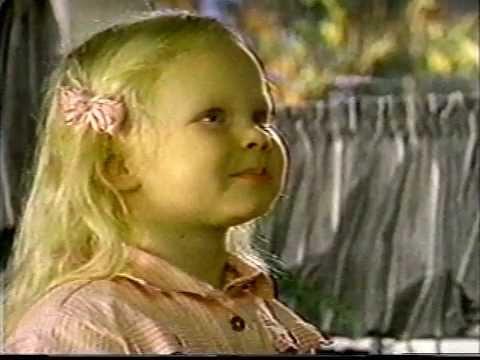 Thora Birch  age 4 Quaker Oats ad 1987